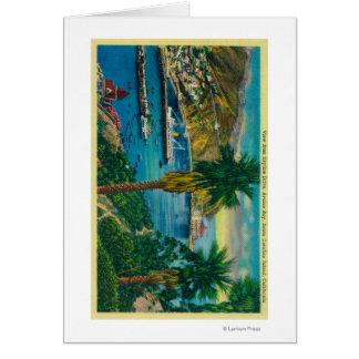 Avalon Bay, Santa Catalina Island from Skyline Card