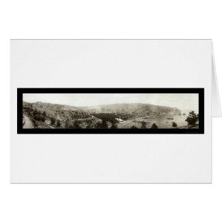 Avalon, CA Catalina Island Photo 1910 Card