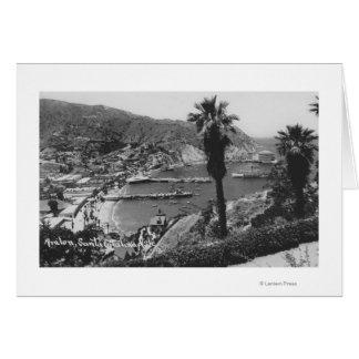 Avalon, CA Santa Catalina Island View of Harbor Card