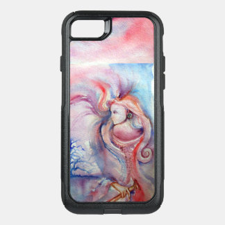 AVALON / Magic and Mystery Pink Blue Fantasy OtterBox Commuter iPhone 8/7 Case