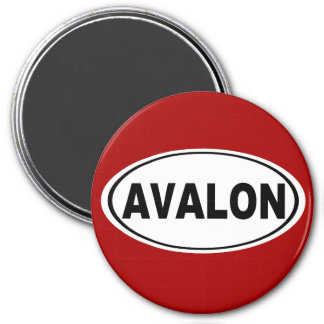 Avalon New Jersey Magnet