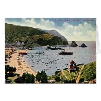 Avalon, Santa Catalina, California Vintage Card