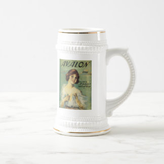 Avalon Song VIntage Songbook Cover Beer Steins
