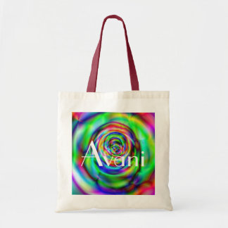 Avani Colorful Rose Budget Tote Budget Tote Bag