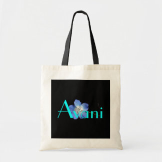 Avani Flower Budget Tote Canvas Bag