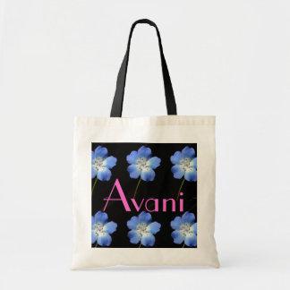 Avani Flower Budget Tote Bags