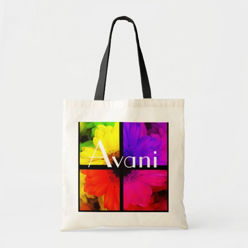 Avani Flowers Budget Tote Tote Bags