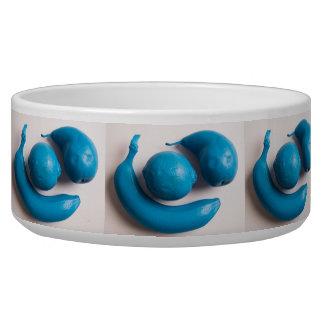 Avant Garde Blue Painted Fruit