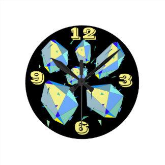 Avant-Garde High Impact Minimalism Contemporary Round Clock