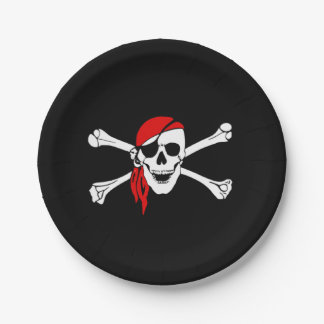 Avast My Party Matie! Paper Plate
