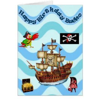 Avast! Ye Matie Greeting Card
