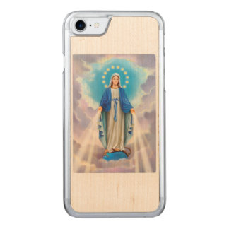 Ave Maria Carved iPhone 7 Case