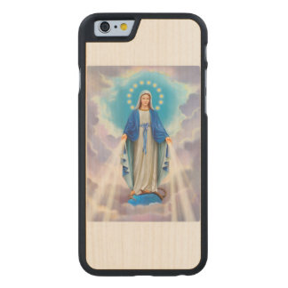 Ave Maria Carved® Maple iPhone 6 Case