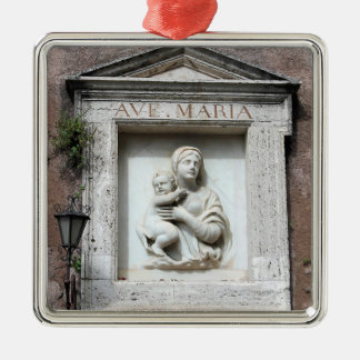 Ave Maria Christmas Ornament