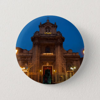 Ave Maria Church in Catania 6 Cm Round Badge