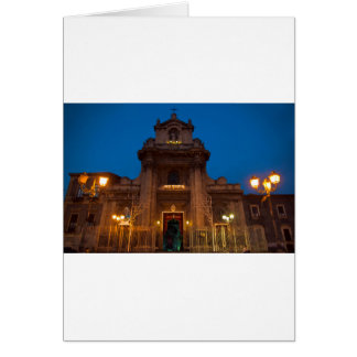 Ave Maria Church in Catania Card