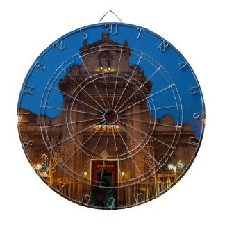 Ave Maria Church in Catania Dartboard