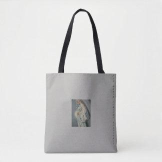 Ave Maria, Custom All-Over-Print Tote Bag