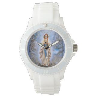 Ave Maria, Custom Sporty White Silicon Watch