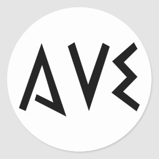 Ave Stickers