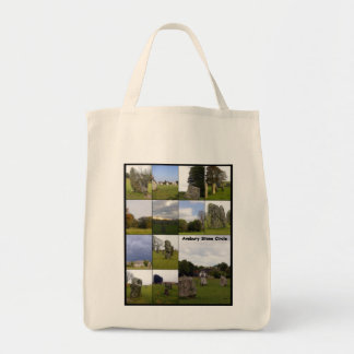 Avebury Year Grocery Tote Bag