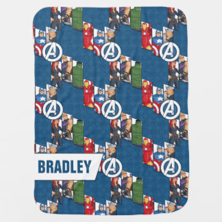 Avengers Assemble Characters Kid Pattern Baby Blanket