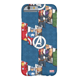 Avengers Assemble Characters Kid Pattern Barely There iPhone 6 Case
