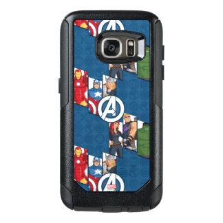 Avengers Assemble Characters Kid Pattern OtterBox Samsung Galaxy S7 Case