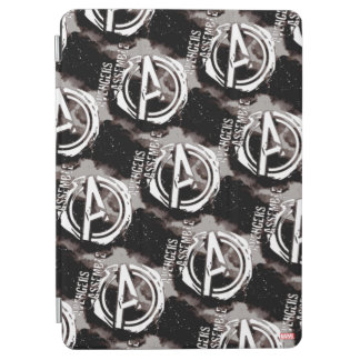 Avengers Assemble Grunge Pattern iPad Air Cover