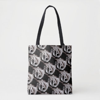 Avengers Assemble Grunge Pattern Tote Bag