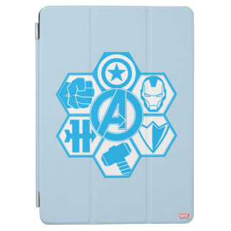 Avengers Assemble Icon Badge iPad Air Cover
