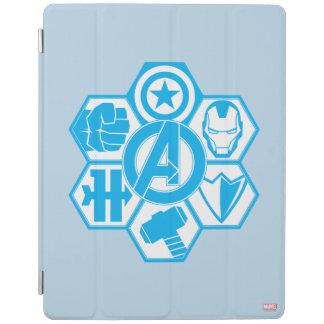 Avengers Assemble Icon Badge iPad Cover