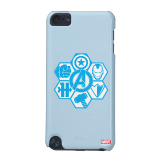 Avengers Assemble Icon Badge iPod Touch 5G Cases