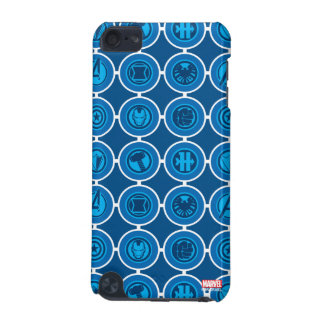 Avengers Assemble Icon Pattern iPod Touch 5G Cover