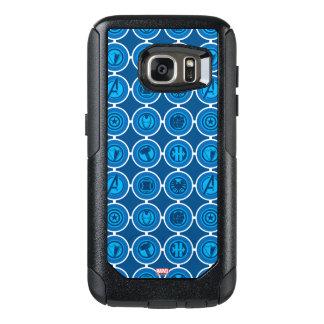 Avengers Assemble Icon Pattern OtterBox Samsung Galaxy S7 Case