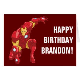 Avengers Assemble Iron Man Character Art Card
