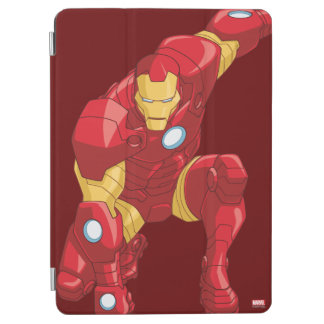 Avengers Assemble Iron Man Character Art iPad Air Cover