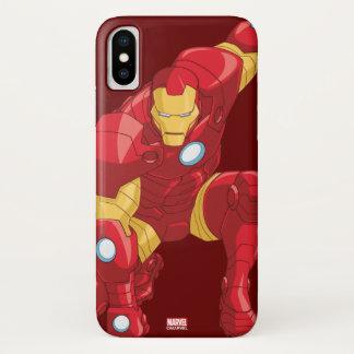 Avengers Assemble Iron Man Character Art iPhone X Case