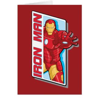 Avengers Assemble Iron Man Graphic Card