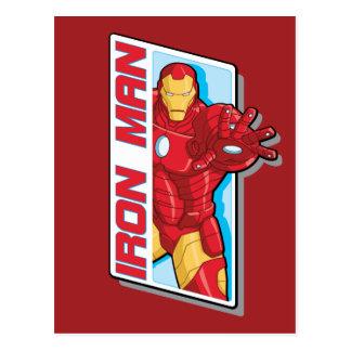 Avengers Assemble Iron Man Graphic Postcard
