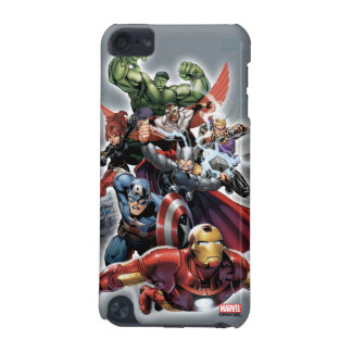 Avengers Attack Graphic iPod Touch (5th Generation) Cases