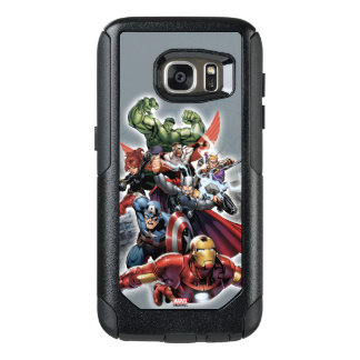 Avengers Attack Graphic OtterBox Samsung Galaxy S7 Case
