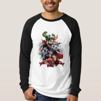Avengers Attack Graphic T-Shirt