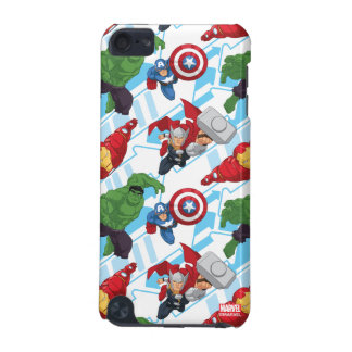 Avengers Character Action Kids Pattern iPod Touch (5th Generation) Cover