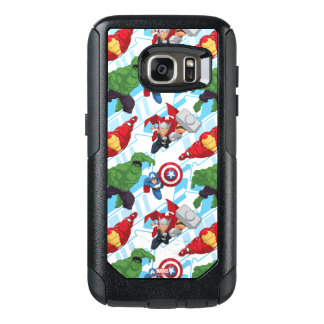Avengers Character Action Kids Pattern OtterBox Samsung Galaxy S7 Case