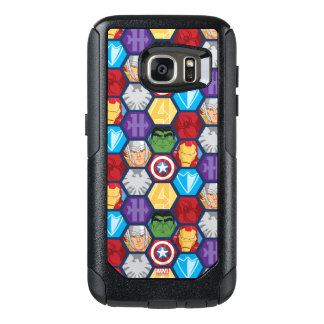 Avengers Character Faces & Logos Badge OtterBox Samsung Galaxy S7 Case