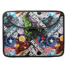 Avengers Character Pattern Sleeve For MacBook Pro