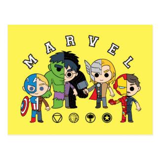 Avengers Classics   Dual Identity Postcard