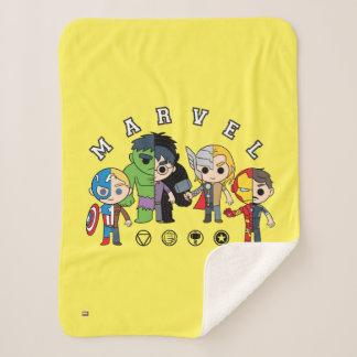 Avengers Classics | Dual Identity Sherpa Blanket
