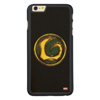Avengers Classics | Loki Symbol Carved® Maple iPhone 6 Plus Case